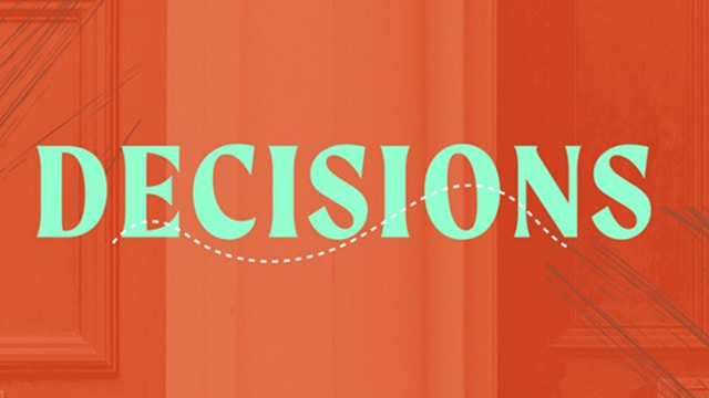 This series teaches us we need to seek the wisdom of God when making decisions.